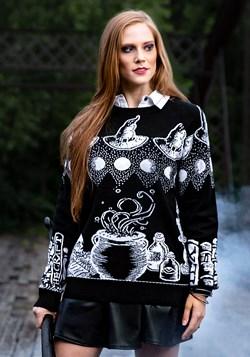 Suéter feo de hechizo de bruja de Halloween para adulto