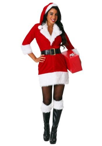 Disfraz para mujer Secret Santa talla extra