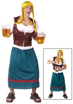 Disfraz de chica alemana de la cerveza para hombre