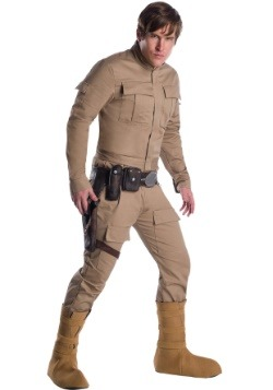 Disfraz de Dagobah Luke Skywalker para adulto premium