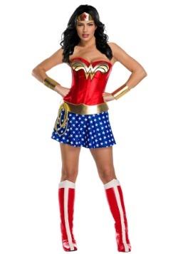 Disfraz de la Mujer Maravilla clásico Premium para mujer