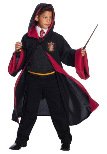 Disfraz de estudiante de lujo Gryffindor