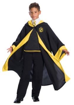 Disfraz infantil de estudiante de Hufflepuff deluxe