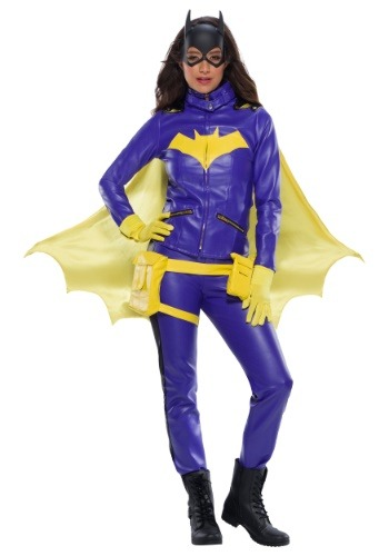 Disfraz de batgirl premium para mujer