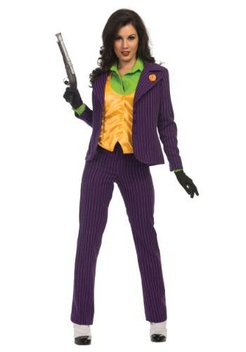Disfraz de Joker Premium para mujer