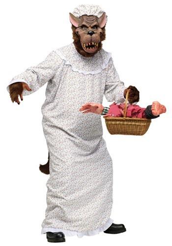 Disfraz de la abuela lobo