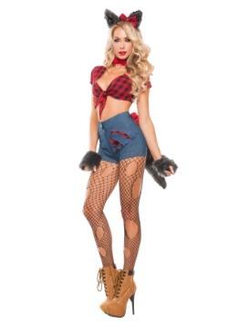 Disfraz para mujer de hombre lobo sexy