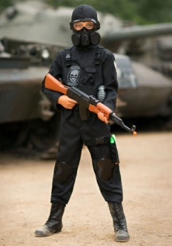 Disfraz infantil del Equipo 6 de la Navy Seal