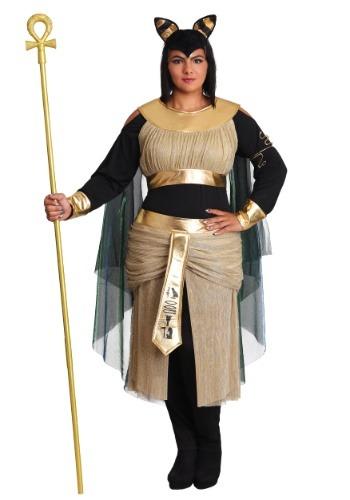 Disfraz de Diosa Bastet de talla grande para mujer