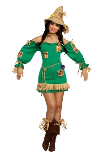 Disfraz de Saucy Scarecrow para mujer