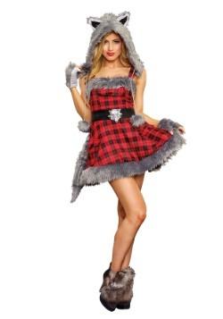 Disfraz de lobo feroz de mujer