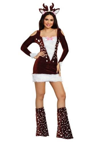 Disfraz de Deer Me para mujer