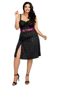 Disfraz para mujer Disco Diva Plus
