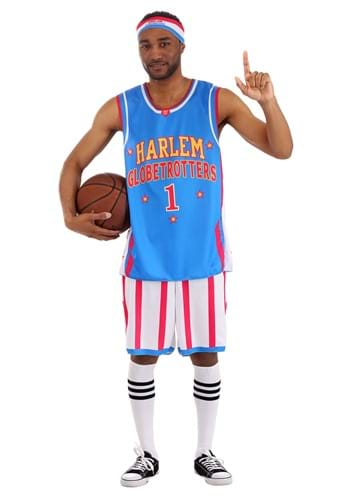 Disfraz de Harlem Globetrotters para hombre uniforme