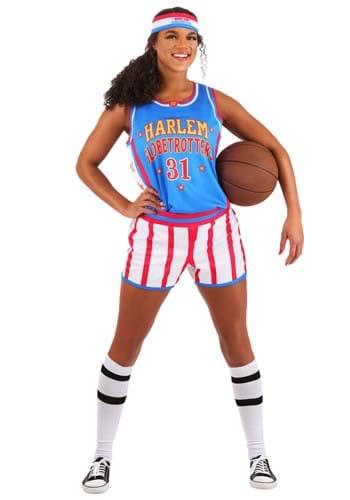 Disfraz de Harlem Globetrotters para mujer uniforme-1
