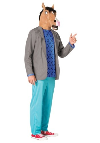 Disfraz de jinete de Bojack para hombre