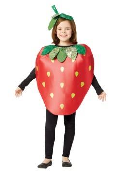 Traje de fresa para niños