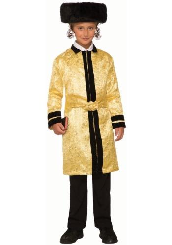 Disfraz de Bekitcha para niños de oro