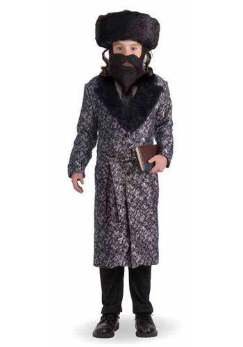 Disfraz de rabino Deluxe para niños