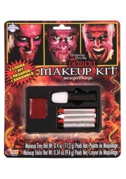 Kit de maquillaje de demonio deluxe