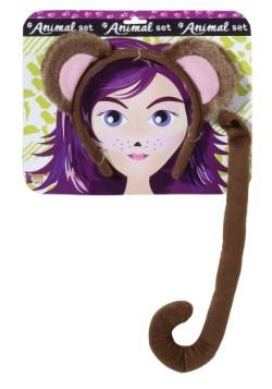 Kt de accesorios de mono para adulto