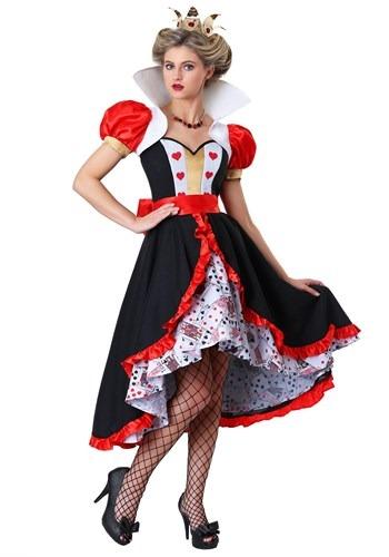 Disfraz de Reina de Corazones coqueta talla extra