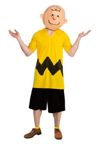 Disfraz para hombre de lujo de Charlie Brown