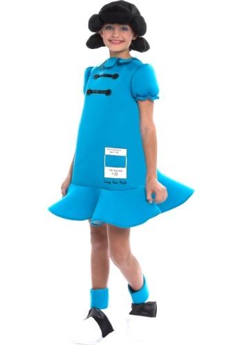 Disfraz de Lucy de Peanuts para niña