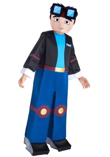 Disfraz de Tube Heroes Dan TDM para niño