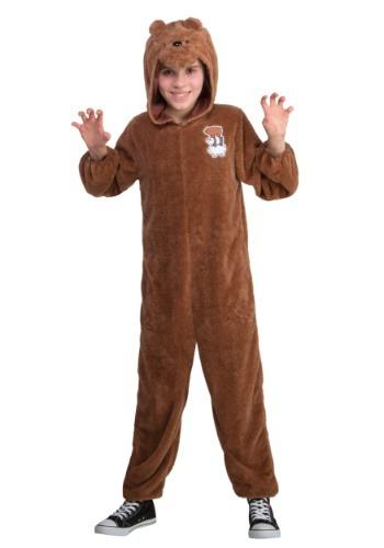 We Bare Bears Traje de niño Grizz Bear