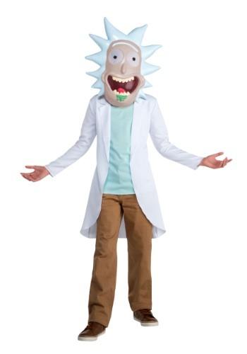 Disfraz de Rick y Morty Rick para niño