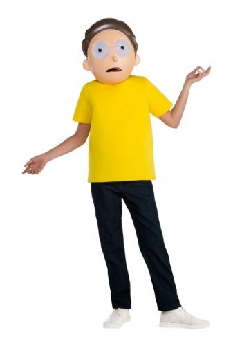 Disfraz de Rick y Morty Morty para niño