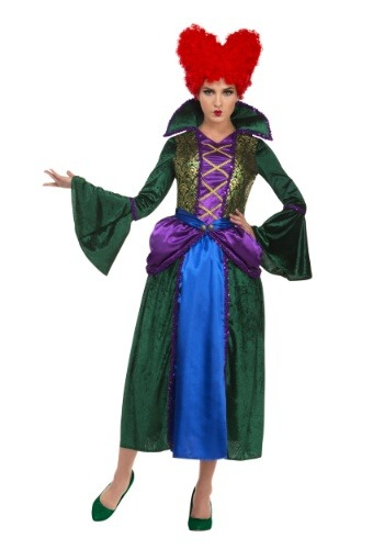 Disfraz de bruja bruja Salem de Bossy para mujer