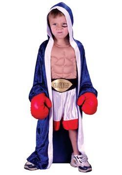 Disfraz de boxeador para niños pequeños