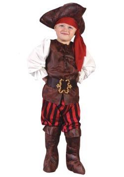 Disfraz de bebé pirata caribeño