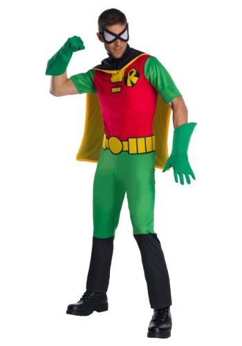 Disfraz de Robin de Teen Titans para hombre