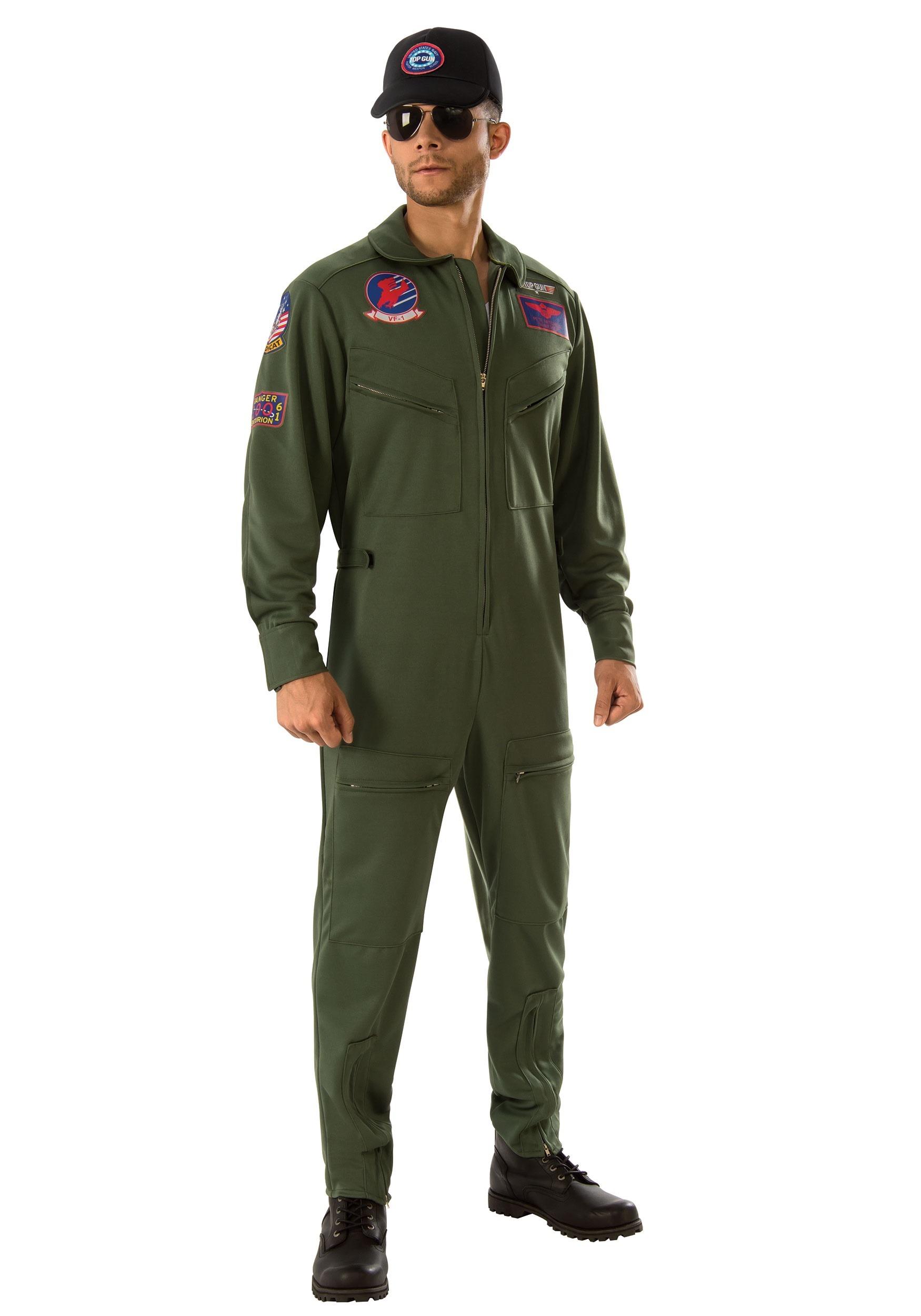 Disfraz Top Gun Jumpsuit para hombre 2e158355dac3