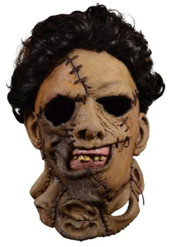 Mascarilla facial de cuero Texas Chainsaw Massacre 2 Deluxe