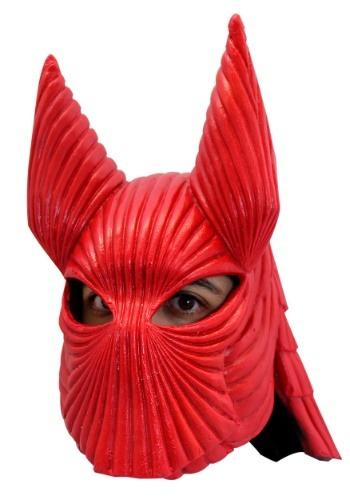 Máscara de casco de la armadura roja Drácula de Bram Stoker