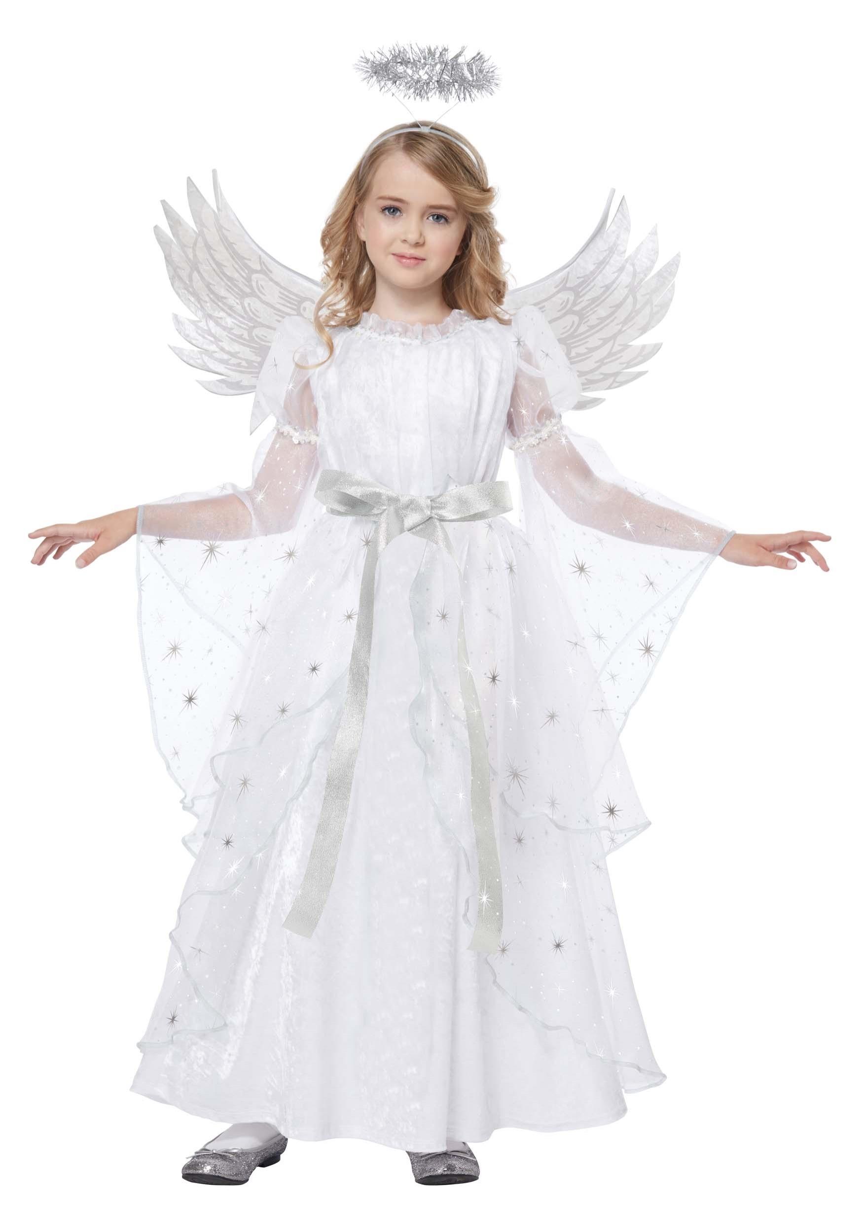 d01f94e89 Disfraz de ángel de luz de estrellas para niñas