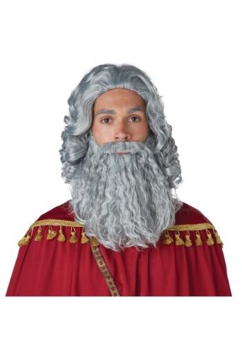 Wise Man Grey peluca y barba