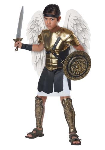Disfraz de arcángel para niño