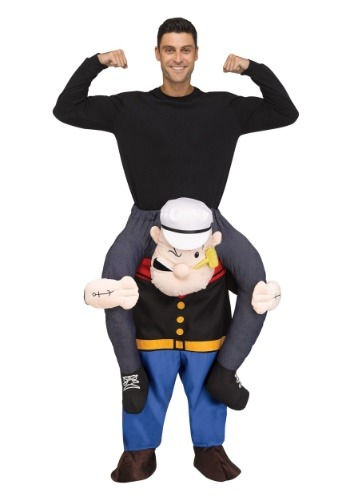 Disfraz de Popeye Ride On para adulto