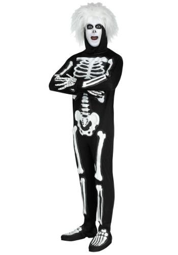 Disfraz de esqueleto SNL para hombre