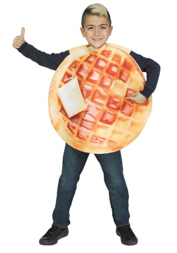 Disfraz de waffle para niños