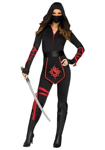 Vestido para mujer Sexy Ninja Warrior