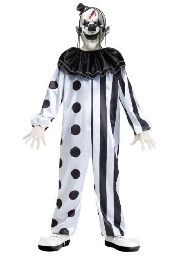 Disfraz de payaso asesino para niños