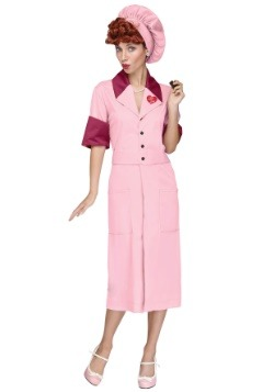 I Love Lucy Womens Candy Factory Disfraz