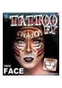 Tatuaje de cara de tigre