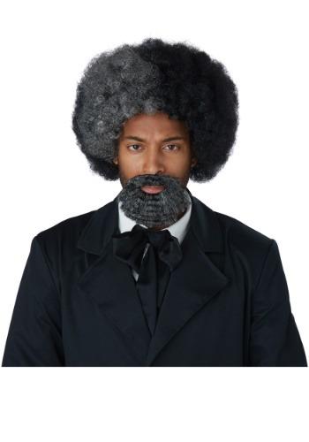 Adulto Frederick Douglass peluca y perilla